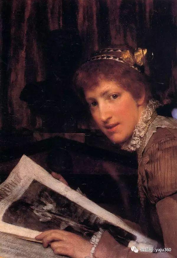 英国画家Lawrence Alma Tadema油画作品插图83
