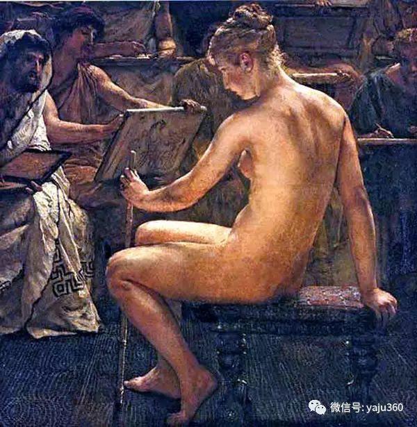 英国画家Lawrence Alma Tadema油画作品插图95