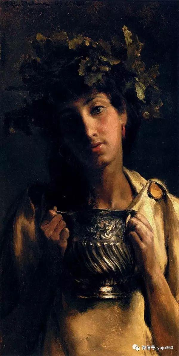 英国画家Lawrence Alma Tadema油画作品插图97
