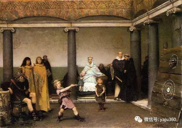 英国画家Lawrence Alma Tadema油画作品插图101