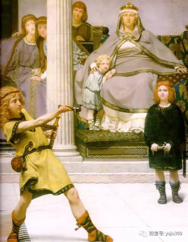 英国画家Lawrence Alma Tadema油画作品插图105