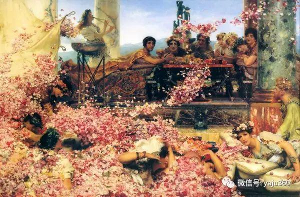 英国画家Lawrence Alma Tadema油画作品插图107