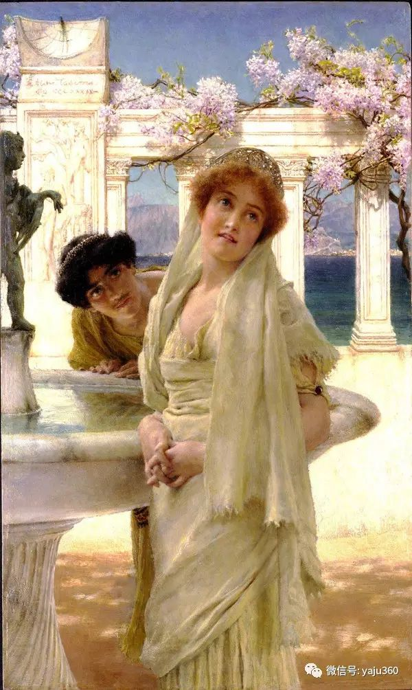 英国画家Lawrence Alma Tadema油画作品插图117