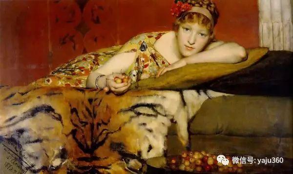 英国画家Lawrence Alma Tadema油画作品插图119
