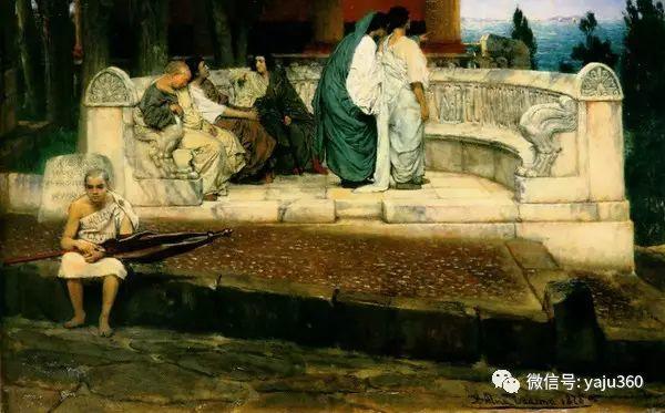 英国画家Lawrence Alma Tadema油画作品插图125