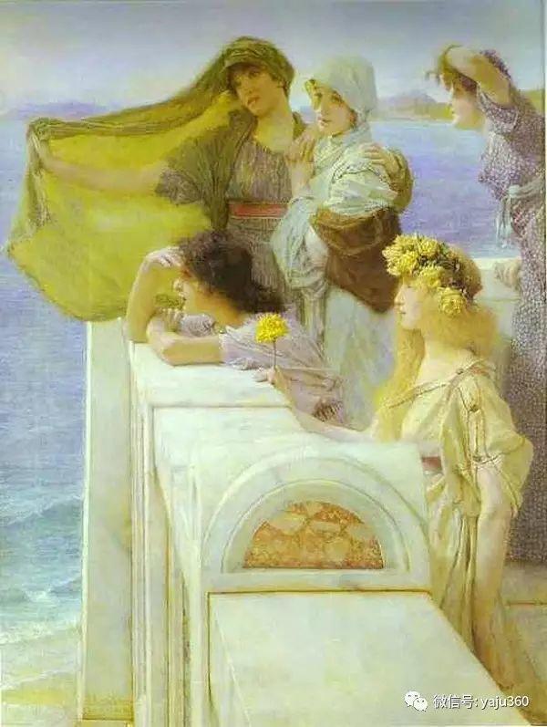 英国画家Lawrence Alma Tadema油画作品插图141