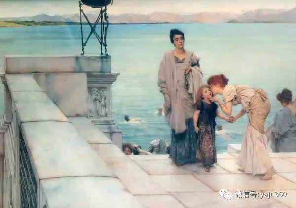 英国画家Lawrence Alma Tadema油画作品插图143