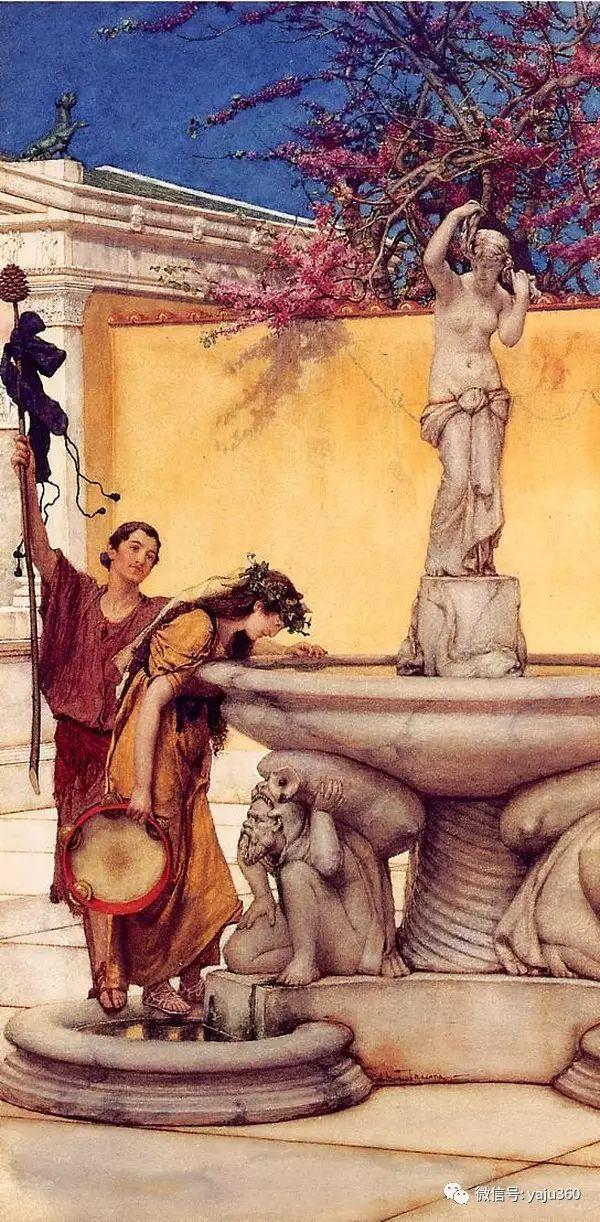 英国画家Lawrence Alma Tadema油画作品插图145