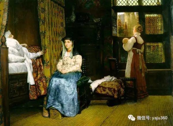英国画家Lawrence Alma Tadema油画作品插图147