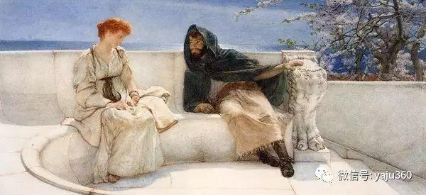 英国画家Lawrence Alma Tadema油画作品插图149