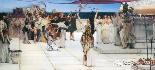 英国画家Lawrence Alma Tadema油画作品插图151