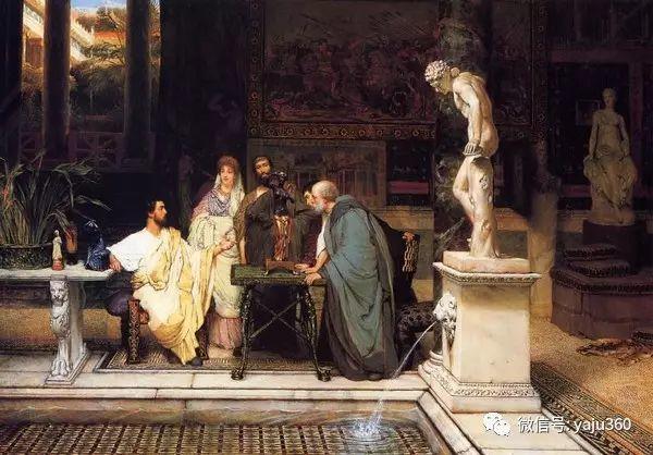 英国画家Lawrence Alma Tadema油画作品插图153