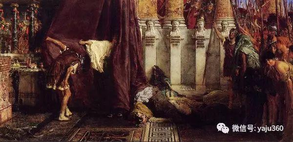 英国画家Lawrence Alma Tadema油画作品插图155