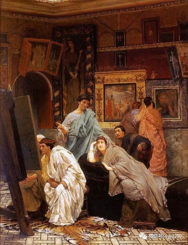 英国画家Lawrence Alma Tadema油画作品插图157