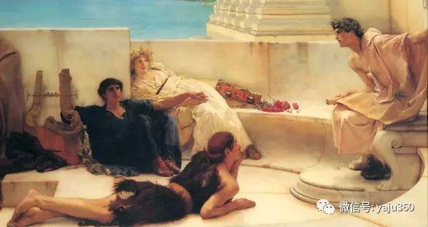 英国画家Lawrence Alma Tadema油画作品插图159