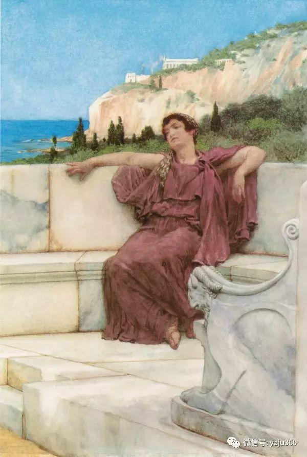 英国画家Lawrence Alma Tadema油画作品插图161
