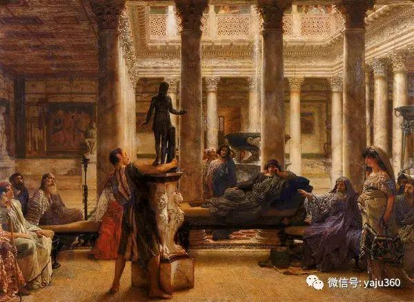 英国画家Lawrence Alma Tadema油画作品插图167