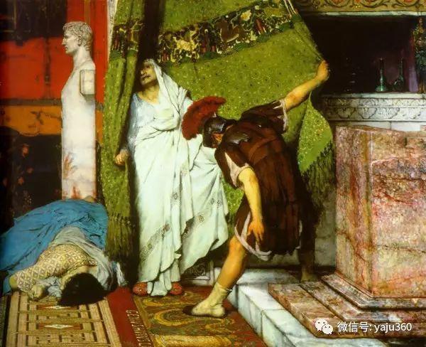 英国画家Lawrence Alma Tadema油画作品插图169
