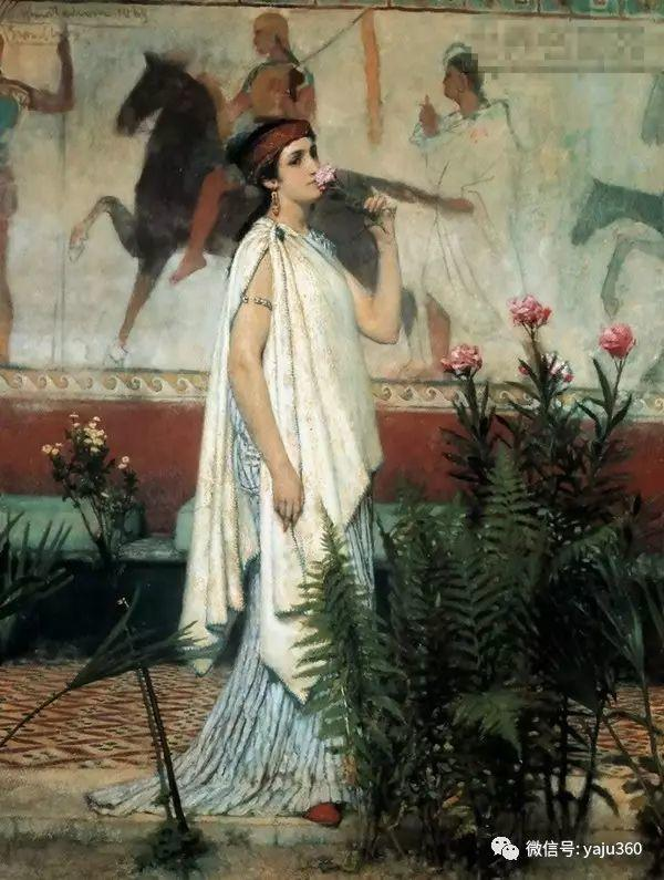 英国画家Lawrence Alma Tadema油画作品插图171