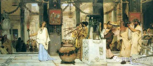 英国画家Lawrence Alma Tadema油画作品插图175