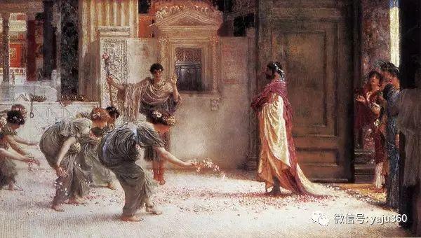 英国画家Lawrence Alma Tadema油画作品插图185