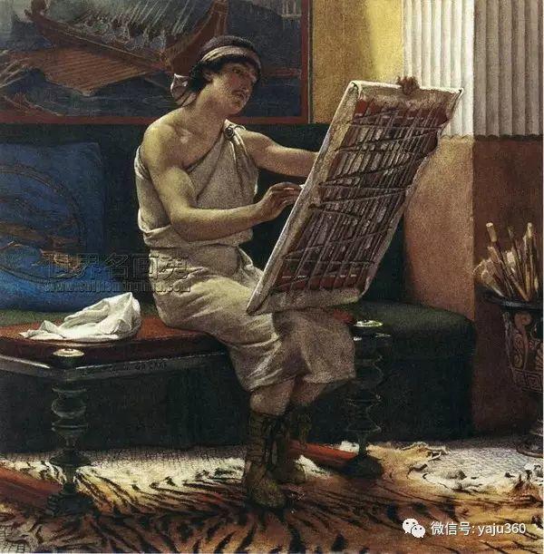 英国画家Lawrence Alma Tadema油画作品插图187