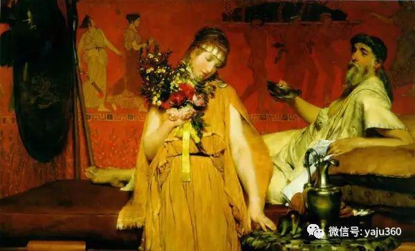 英国画家Lawrence Alma Tadema油画作品插图189
