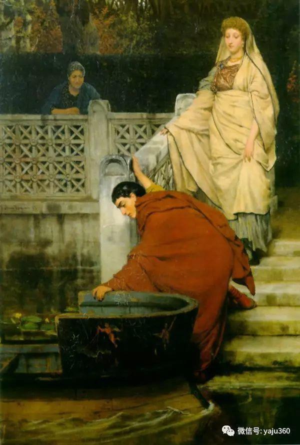 英国画家Lawrence Alma Tadema油画作品插图191