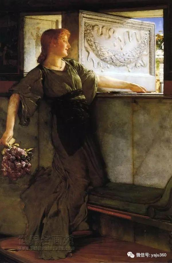 英国画家Lawrence Alma Tadema油画作品插图193