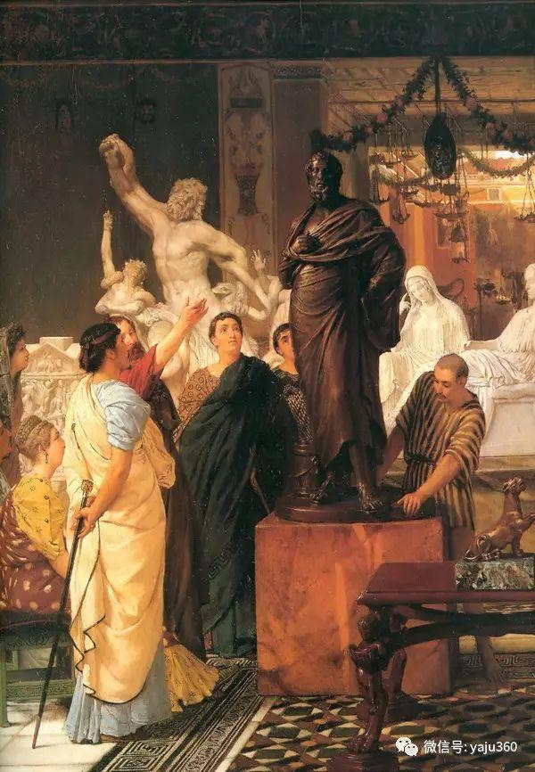 英国画家Lawrence Alma Tadema油画作品插图195