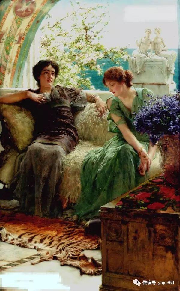 英国画家Lawrence Alma Tadema油画作品插图201