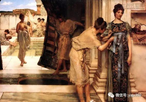 英国画家Lawrence Alma Tadema油画作品插图203