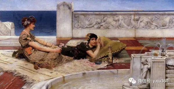 英国画家Lawrence Alma Tadema油画作品插图207