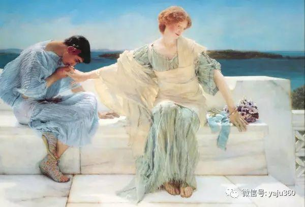 英国画家Lawrence Alma Tadema油画作品插图211