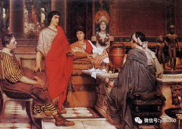 英国画家Lawrence Alma Tadema油画作品插图215