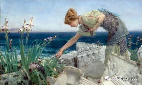 英国画家Lawrence Alma Tadema油画作品插图219