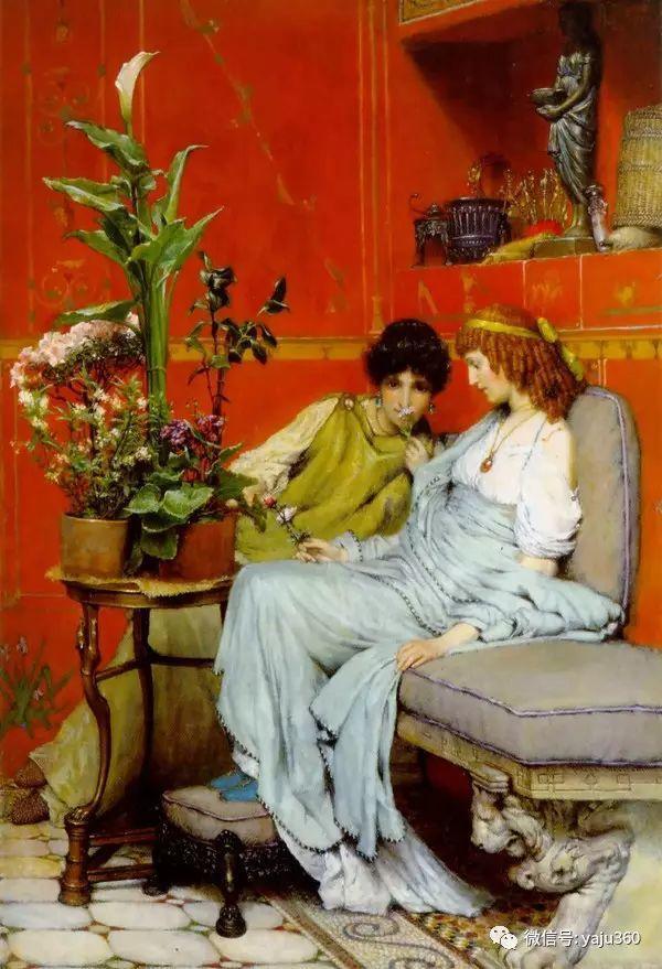 英国画家Lawrence Alma Tadema油画作品插图223