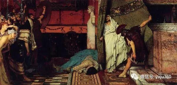 英国画家Lawrence Alma Tadema油画作品插图227