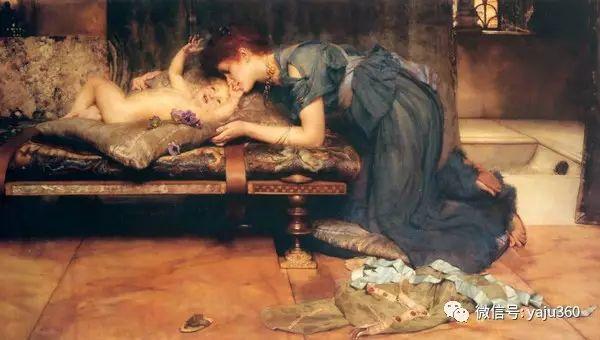 英国画家Lawrence Alma Tadema油画作品插图229