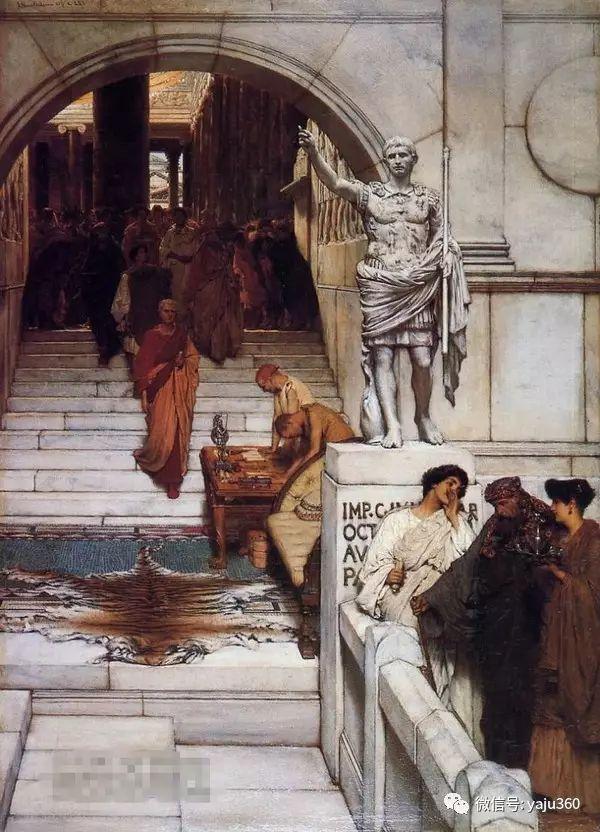 英国画家Lawrence Alma Tadema油画作品插图233