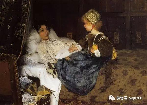英国画家Lawrence Alma Tadema油画作品插图235