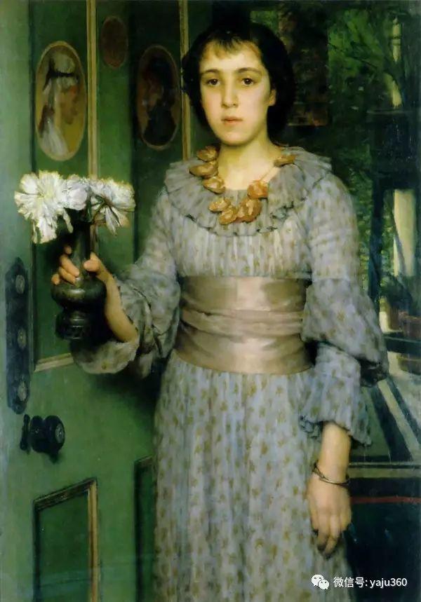英国画家Lawrence Alma Tadema油画作品插图237