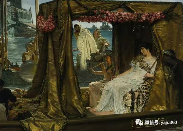 英国画家Lawrence Alma Tadema油画作品插图239