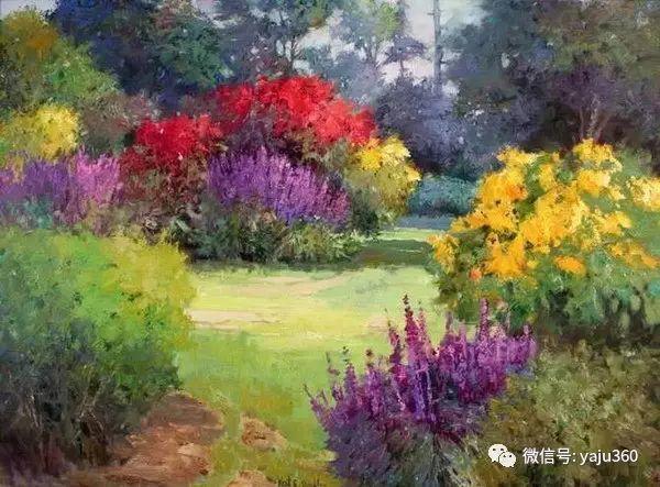 印象风景画 美国肯特·瓦利斯油画欣赏插图25