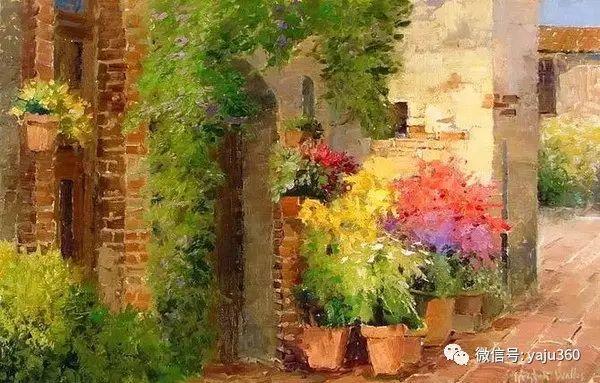 印象风景画 美国肯特·瓦利斯油画欣赏插图37