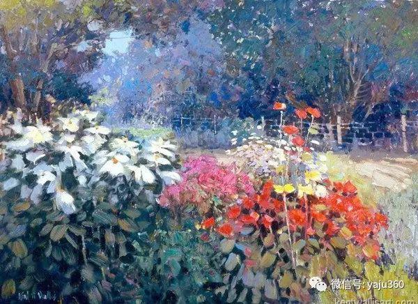 印象风景画 美国肯特·瓦利斯油画欣赏插图51