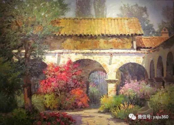 印象风景画 美国肯特·瓦利斯油画欣赏插图61