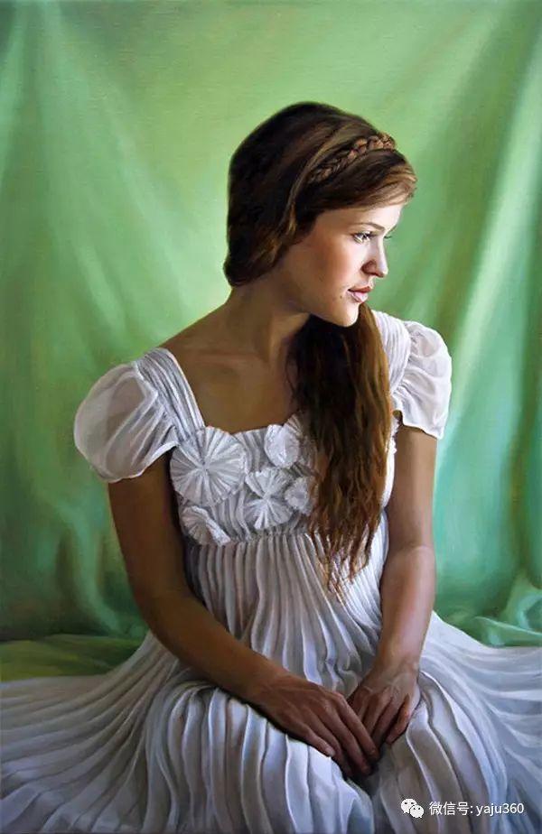 美国Amy Lind人物油画作品插图1