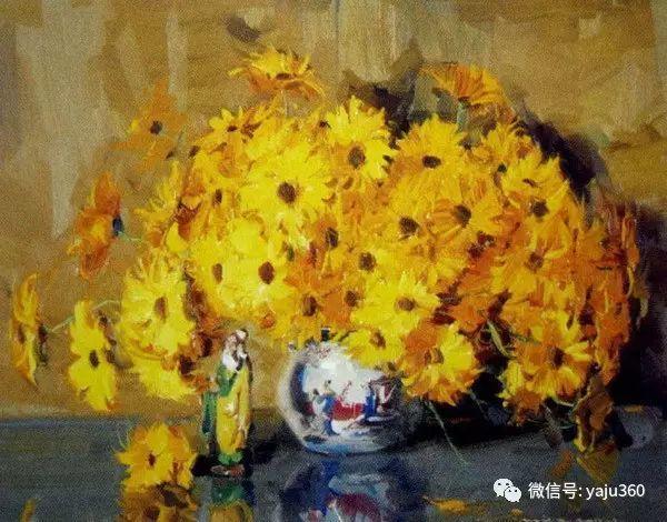 静物花卉 澳大利亚Alan Douglas Baker作品欣赏插图1