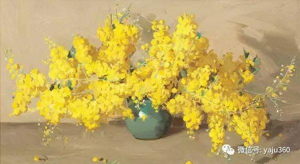 静物花卉 澳大利亚Alan Douglas Baker作品欣赏插图5